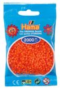Hama 501-04 Mini Bügelperlen 2000 Stk. Orange